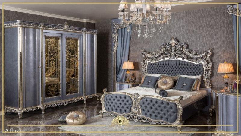 mavi gümüş yemek odası istanbul