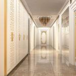 koridor iç mimarlık masko