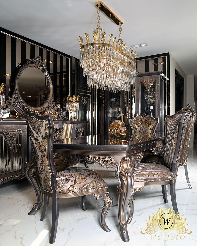 İstanbul klasik Yemek odasi