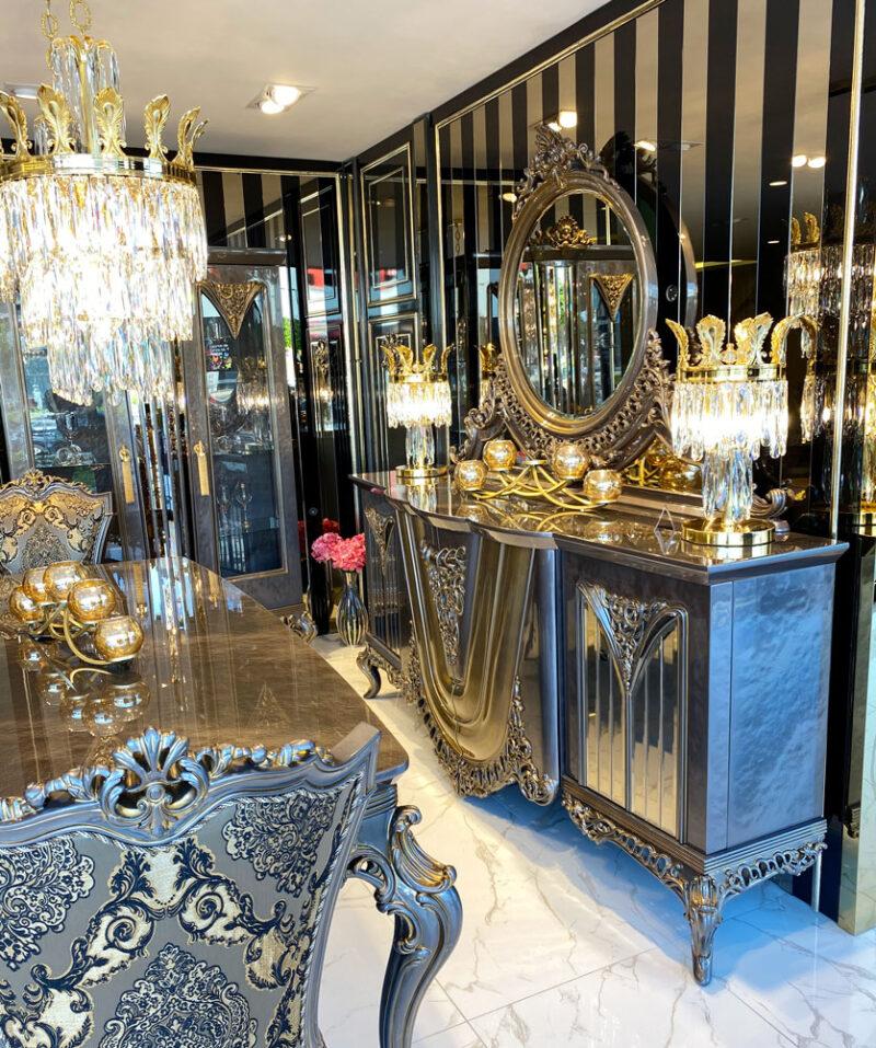 Masko klasik yemek odası - klasik mobilya
